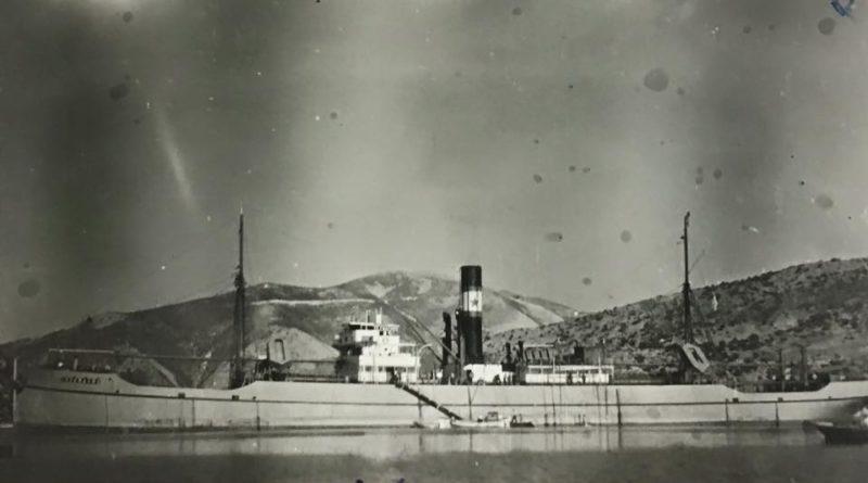 ΤΗΛΕΜΑΧΟΣ του Δρακουλη στο Βαθυ της Ιθακης το 1938.