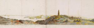 Θέα από τη μονή των Καθαρών. Πρωτότυπος τίτλος View from the monastery of Kathara. Χρονολογία έκδοσης 1807 -4
