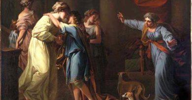 Kauffmann, Angelica, The return of Telemachus