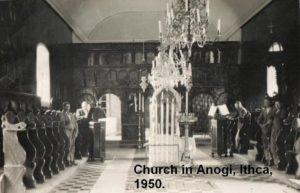 Ανωγή 1950 εκκλησία Κοίμηση της Θεοτόκου.Φωτογραφία από Κωνσταντίνος Ροσσόλυμος Constantine Rossolimo